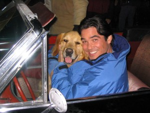 Bailey's Billions - Dean Cain with Golden Retriever - Shooter