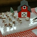 cake sheep - taste and smell better than the real thing