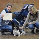 Liz and Lexie earn their Canine Good Citizen