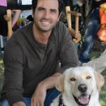 Raz with actor Antonio Cupo