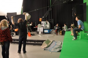 Ruckus between takes UPC Cablecom commercial