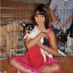 Freida with Child Actress